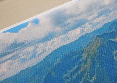 Пано за стена с дървена рамка, снимка или колаж