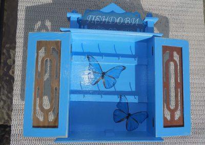 Пеперудено синьо