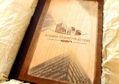 Дървени работни тефтери
