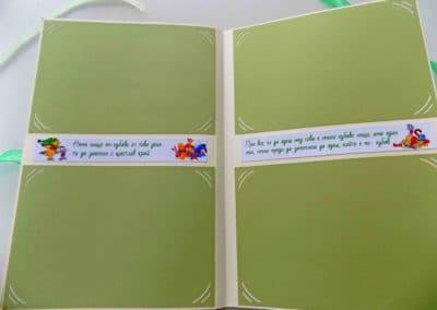 Цитати от любима книжка с леки декорации