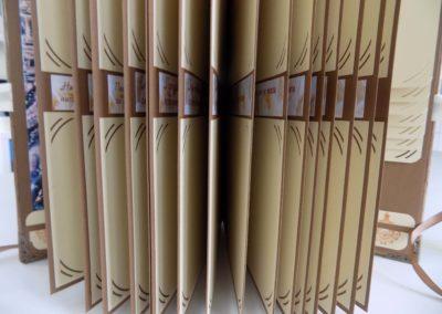 Албум за снимки с ръчноизработено тяло