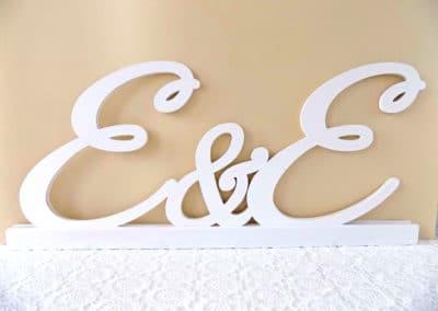 Ефирни букви
