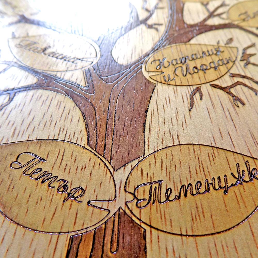 Характера на дървото